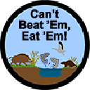 cant beat em eat em badge