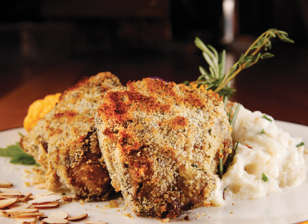 Herb Crusted Wild Boar Medallions
